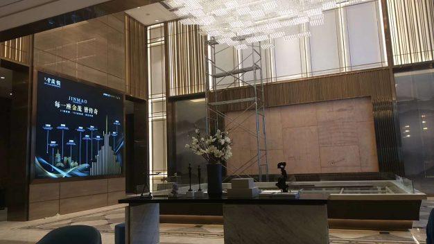 金茂装饰苏州木渎项目选用梦缘新工艺产品完美收官!